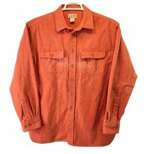 L.L. Bean Chamois Flannel Shirt L